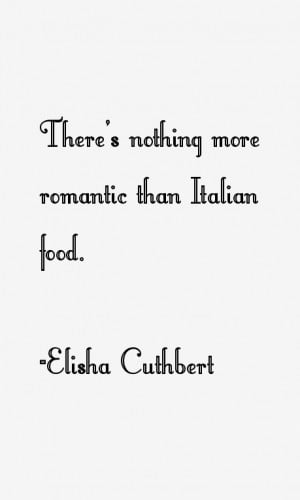 Elisha Cuthbert Quotes amp Sayings