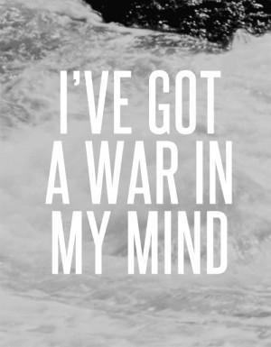 conflict mind quote war