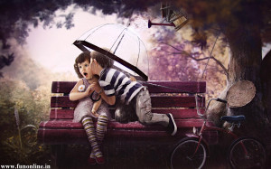 delightful funny love wallpapers funny boy kissing girl