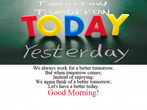 Good Morning Quotes of the day