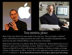 Writeup about Steve Jobs and Dennis Ritchie