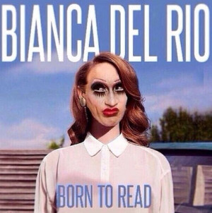 Bianca Del Rio, as Lana De Rey (this is SICK!!) and I LOVE IT!!!