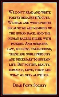 Dead Poets * Living Words