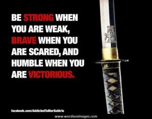 martial arts training quotes
