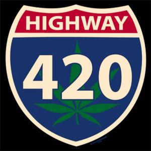 Highway 420 – T-Shirt