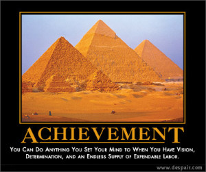 Achievement – You can do anything you set your mind to when you have ...