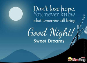Goodnight moon inspiring quotes to never lose hope and these short ...