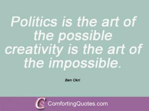 Magic Quotes Ben Okri Quotes Art Quotes
