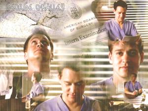 Grey's Anatomy George tribute wallpaper