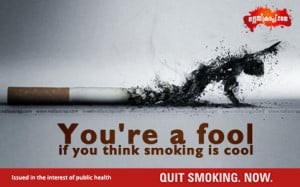 Team Nallascrap launches our Anti Tobacco Campaign as part of this.