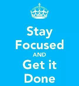 Focus & get done