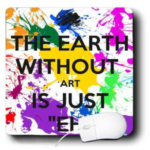 Funny Quotes About Art Teachers ~ Amazon.com : 3dRose LLC 8 x 8 x 0.25 ...