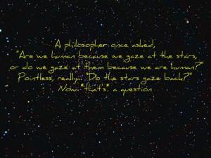 star gazing quotes quotesgram