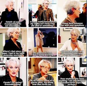 Devil Wears Prada quotes