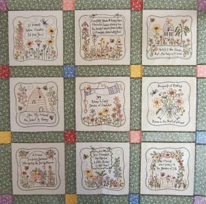 Home | Seasons & Holidays | Summer | Friendship's Garden Quilt