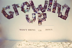 Growing Up Won't Bring Us Down ~ Children Quote