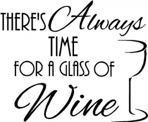 ... wine vinyl wall quotes decals sayings art lettering by Sticker Perfect