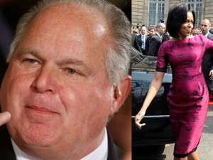... Treat a Lady (Rush Limbaugh insults Michelle Obama) – Rants & Raves
