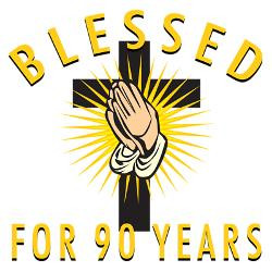 blessed_for_90_years_greeting_card.jpg?height=250&width=250 ...