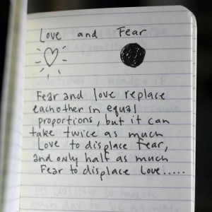 Fear to love someone quotes