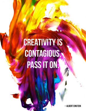 18 Oct Creativity is Contagious!