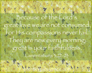 Lamentations quote
