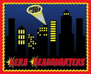 Superhero Headquarters! - Superhero Welcome Display
