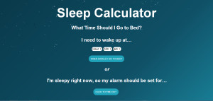 ... Sure What Time You Should Go To Bed? You Need This Sleep Calculator