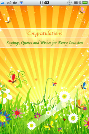 Congratulations - Greetings, Quotes and Wishes for Every Occasion ...