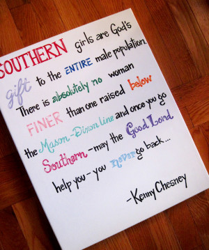 This Kenny Chesney quote is a favorite and shipped out to Kentucky a ...