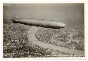 Graf Zeppelin über Basel