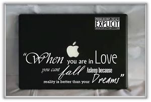 Dr Seuss Love Quote Laptop Car Truck Vinyl Decal Skin | eBay