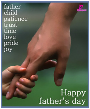 Father Child Patience trust time love pride joy....!!!