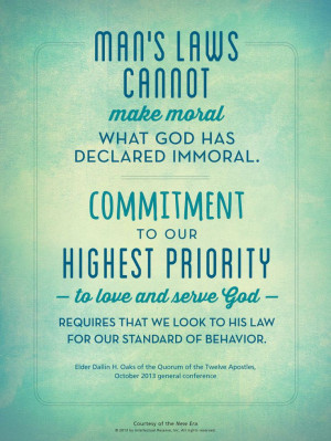 to love and serve god requires that we look to his law for our ...