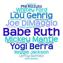 ny_yankees_hall_of_famers_word_art_greeting_card.jpg?height=250&width ...