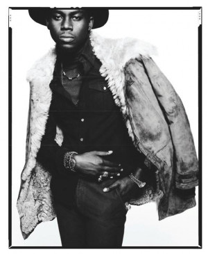 Theophilus London's 70s Style Featured In GQ & Black Book ...