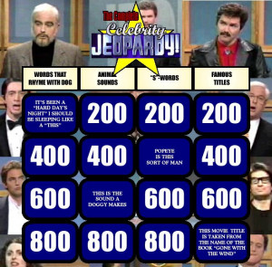 History Of Celebrity Jeopardy (All 14 Sketches)