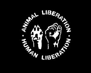 Animal Liberation. Human Liberation T-Shirt | Anarkiss