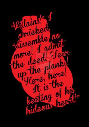 The Tell-Tale Heart by Edgar Allan Poe by HaddonArt