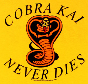 Karate Kid - Cobra Kai Never Dies T-Shirt - Adult Medium