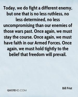 Bill Frist Faith Quotes