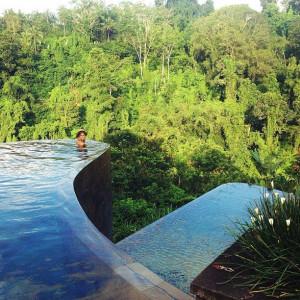 hanging garden hotel // ubud, bali //