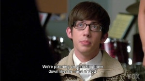 glee quote I love this show!!