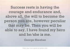 George Sheehan quote