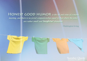 Sunday Quote: Laughter