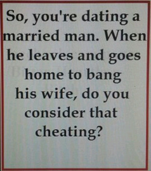 why married man cheats