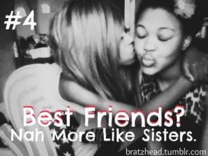 More like sisters.