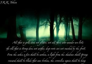 Tolkien quote by 13DarkMelody31