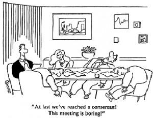 Status meetings can be fun