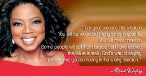 Oprah winfrey, quotes, sayings, life, failures